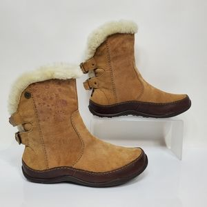 The North Face Abby Leather Winter Boots
